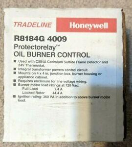 Honeywell R8184G 4009 Oil Burner Control Protectorelay Intermittent Ignition