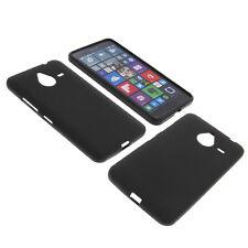 Tasche für Microsoft Lumia 640 XL Handy Schutzhülle TPU Gummi Case Schwarz