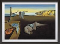 Salvador Dali 'The Persistance of Memory' Surreal Art Print Poster Two Sizes
