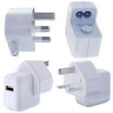 10W Genuine orignal APPLE ipad 1 2 iphone 3 4 Mains Charger USB Wall Plug only