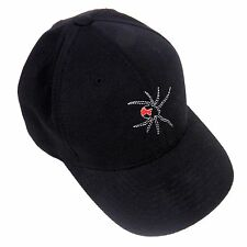 Black Widows Baseball Cap Embroidered Spider Flexfit Black