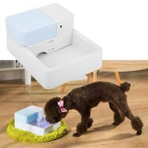 Automatisch Wasserspender Trinkbrunnen Tränke für Hunde Katzen mit Led Licht DHL