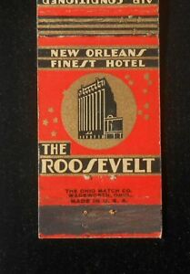 1930s The Roosevelt Hotel Home of the Original Ramos Gin Fizz New Orleans LA MB