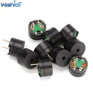 10-100PCS Small Passive Buzzer 16Ω 5V Mini Piezo Buzzers For Arduino Diy Speaker