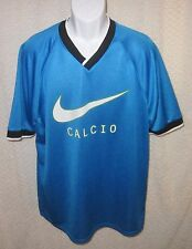 "Vintage NIKE ""Calcio"" Soccer jersey shirt size adult Large"