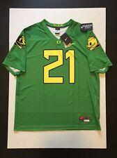 Nike Oregon Ducks Fighting Duck & Puddles Football Legend Jersey #21 Sz 2XL