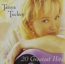 Tanya Tucker - 20 Greatest Hits - Audio CD By Tanya Tucker - VERY GOOD