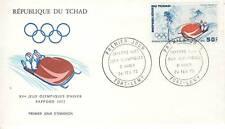 PREMIER JOUR TCHAD SPORT JEUX OLYMPIQUES SAPPORO 1972