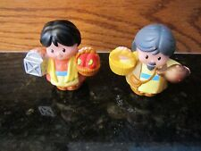 Fisher Price Little People Christmas Nativity Bethlehem Inn keeper MAN Wife Pair