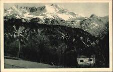 Garmisch PARTENKIRCHEN Bayern ~1925 Forsthaus Graseck Panorama Berge Alpen Blick