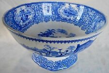 """19th CENTURY SCOTTISH POTTERY J & MP BELL POTTERY """"TRIUMPHAL CAR"""" TODDY BOWL"""
