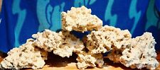 40 lbs Med/Lrg Dry Reef Base Rock, Lightweight, Porous, Great for Aquariums Live