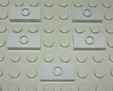 Lego Platte Konverter 1x2 new Grau 5 Stück              (372)