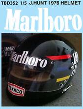 1/5 James Hunt Helmet 1976 missing Sponsor Decals TB Decal tbd352