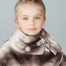 MONNALISA GIRLS FAUX FUR COAT 5 YEARS