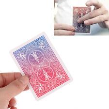 Change By Lloyd Barnes -Color Changing Poker Card Magic Tricks Close Up Gimm DM