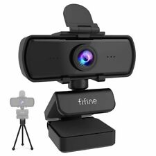 1440p Full HD PC Webcam With Microphone Tripod Live Streaming Camera for Video