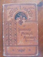 1st Ed 1885 Climatology & Mineral Waters Of US Dr A N Bell Woods Medical Book