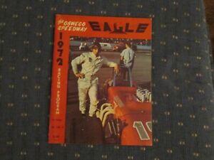 1972 Oswego Speedway Program Vol. 9  # 15 Jim Cheney