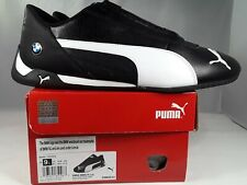 PUMA  BMW MMS R-CAT Men's Shoes Sz 9.5 Brand  Black/White New in Box 339933-01