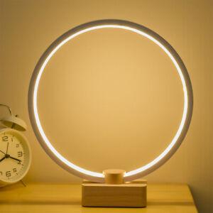 Modern Simple Dimmable Desk Lamp Home Decor LED Lighting Bedroom Bedside Night