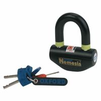 Oxford Nemesis Motorcycle Bike Scooter Disc Lock Security Sold Secure  New