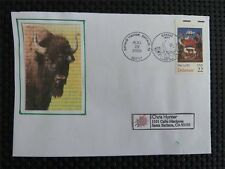 Estados unidos Bison bisontes bisonte europeo wisente Buffalo self made cover c4747