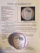 2002 Japan All Star Series Team signed Baseball 24 AUTO'S Alomar JSA LOA