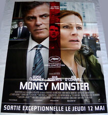 MONEY MONSTER George Clooney Broadcasting Julia Roberts LARGE French POSTER