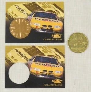 1997 Pinnacle Mint Collection Coin and Card(s) NASCAR Select Driver of Choice
