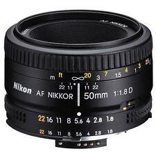 Genuine Nikon 50mm f/1.8D AF Nikkor Lens for Nikon Digital SLR Cameras in UK