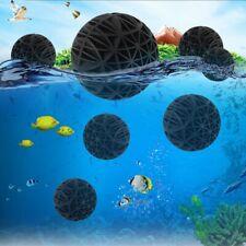 Aquarium Filter Bio Ball Cotton Air Pump Fish Tank Pond Reefs Sponge Clean Tools