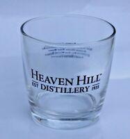 "Heaven Hill Distilleries Inc.Whiskey Rocks Glass"" BEAUTIFUL COLLECTIBLE 6fl oz"
