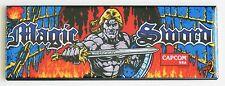 Magic Sword Marquee FRIDGE MAGNET (1.5 x 4.5 inches) arcade video game header