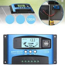 100A MPPT regulador de Panel Solar carga 12V/24V Auto enfoque de seguimiento