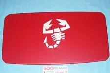 FIAT 500 F/L/R PADIGLIONE INTERNO ROSSO LOGO SCORPIONE ABARTH SOTTOTETTO CIELO