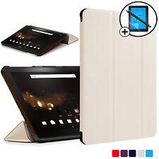 Bianco Pieghevole Smart Custodia Cover Acer Iconia Tab 10 A3-A40 Proteggischermo