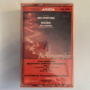 Jose Serebrier 1812 Overture Bolero (Cassette) New Sealed