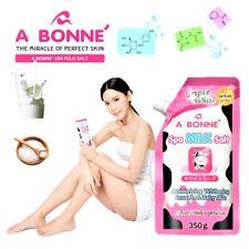 Whitening Natural Perfect Skin Bright Smooth Scrub Milk Viamin Salt Moisture Spa