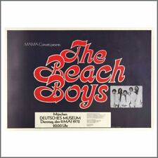 The Beach Boys 1972 Munich Concert Poster (Germany)