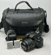 Nikon D3300 DSLR Camera - Black (Kit w/ AF-S DX VRII 18-55mm Lens) - 5K Clicks