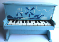 Piano en bois, jouet de poupée, no dinette, décor: Moulin + personnages Hollande