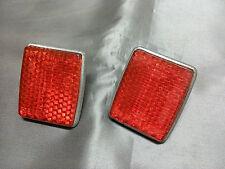 Reflector red rear tail light lense Aric Ferrari Osca Maserati ISO Fiat 600 1100