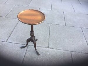 Antique Wine Or Lamp Table