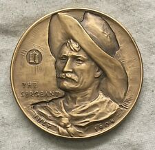 """MACO. Frederic Remington """"The Sergeant"""" Medal, 1971"""