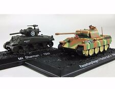 """1:72 Series """"Tanks of world"""" Special issue #2  SHERMAN M4 & PANTHER"""