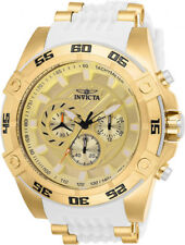 Invicta Men's Speedway Quartz Chrono 100m Gold-Tone s. Steel Watch 25510