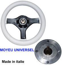 Volant Blanc Ø 280mm Moyeu Central cône Universel Bateau
