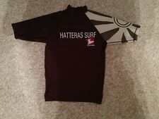 Hatteras Outer Banks Surf Swim Shirt Sunspecs Brown Cream S sm small
