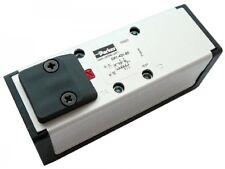 B16-00670 - ISOMAX piloto operado válvulas ISO 1 & 2 - 5/2 Válvula de resorte de presión